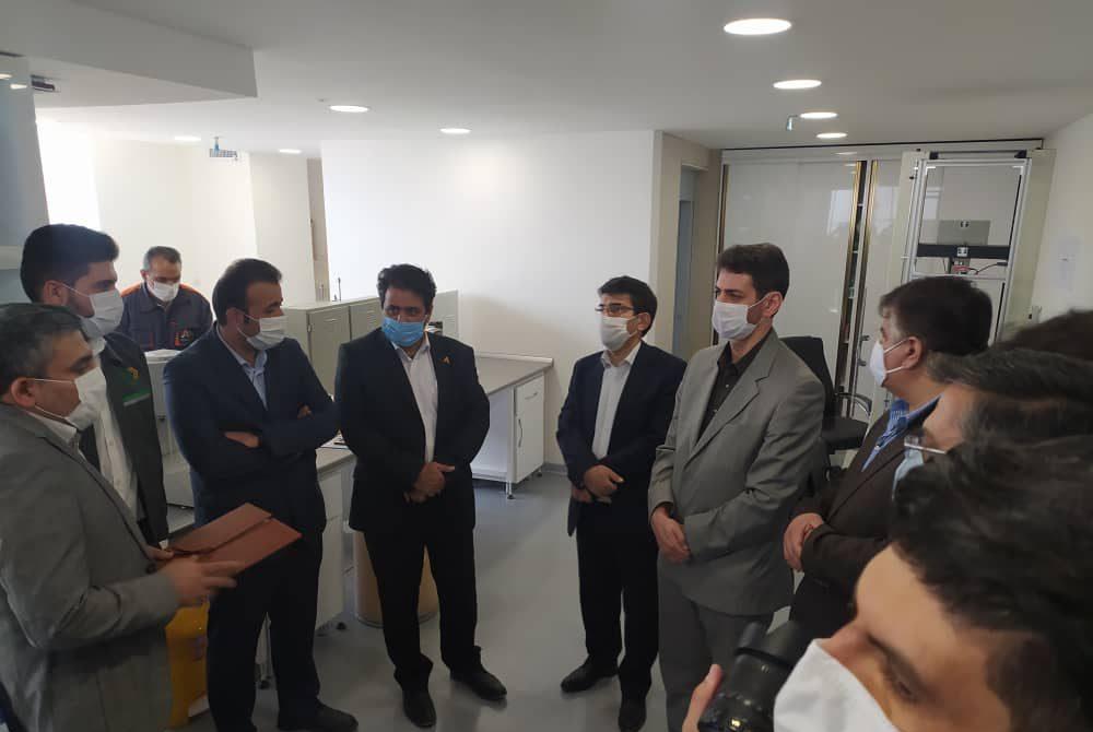 گزارش تصویری از حضور معاون وزیر راه و شهرسازی در شرکت آریا پلیمر پیشگام 3