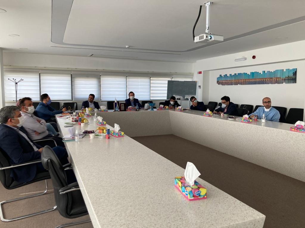بازدید مسئولین ستاد فناوری نانو از دستاورد های شرکت آریا پلیمر