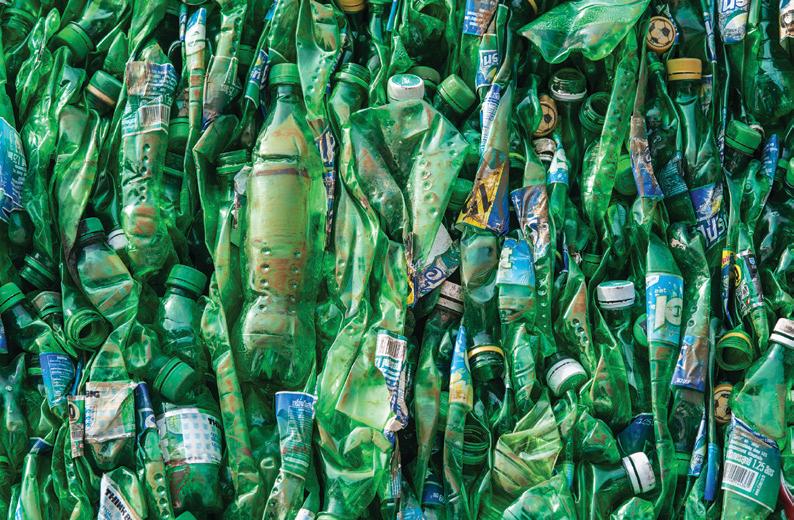 سازگارکننده پلی پروپیلن (PP-g-MA) در ترکیب مواد بازیافتی (گرانول) PET/PP